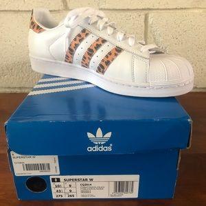 Adidas Leopard Superstar Shoes